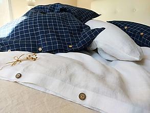 Úžitkový textil - Posteľné obliečky Blue & White - 13811587_