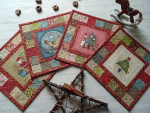 Úžitkový textil - Christmastime ... prestierky No.2 - 13814336_