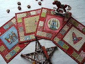 Úžitkový textil - Christmastime ... prestierky No.1 - 13814352_