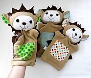 Hračky - Maňuška ježko - na objednávku - 13812988_