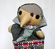 Hračky - Maňuška ježibaba (Ježibaba od Sivohmlovej lúky) - 13814713_