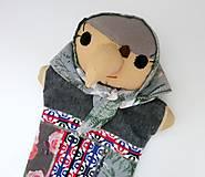 Hračky - Maňuška ježibaba (Ježibaba od Sivohmlovej lúky) - 13814717_