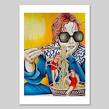 Grafika - Little sugar in my bowl - fine art print - 13816808_