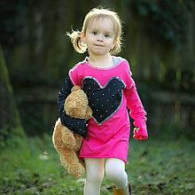 Detské oblečenie - Origo šaty srdce HT - 13816398_