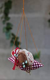 Dekorácie - spiaca Víla / Vianočná ozdoba - 13815916_