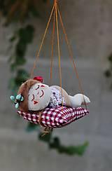 Dekorácie - spiaca Víla / Vianočná ozdoba - 13815981_