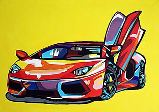 Obrazy - Akrylová maľba podľa vašich predstáv - na objednávku - 13813665_