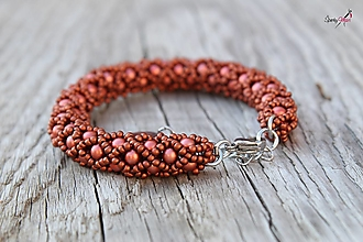 Sady šperkov - súprava PP medená (náramok PP medený) - 13819002_