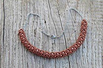 Sady šperkov - súprava PP medená (náhrdelník PP medený) - 13819051_