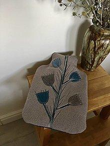 Úžitkový textil - Termofor béžový-originálny ozdobný a úžitkový - 13817359_
