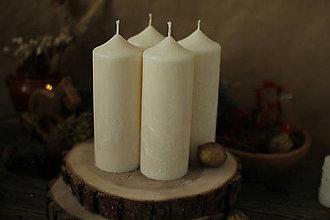 Svietidlá a sviečky - MAXI adventná sada sviec - 13817770_