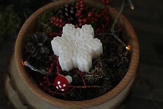 Svietidlá a sviečky - Darček k nákupu nad 28 eur - VLOČKA - 13817880_