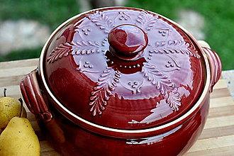 Nádoby - Keramická nádoba na pečenie - 13819119_