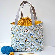 Iné tašky - HOBBY tvoritaška s odkazom + návod zdarma - 13819532_