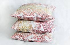 """Úžitkový textil - Dekoračné vankúše """"Západ slnka"""" - 13817782_"""