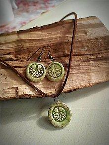 Sady šperkov - Súprava keramických šperkov STROM - 13818872_