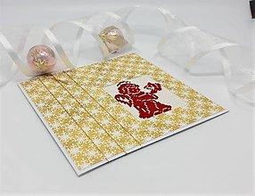 Papiernictvo - Vianočný anjelik - pozdrav - 13819750_
