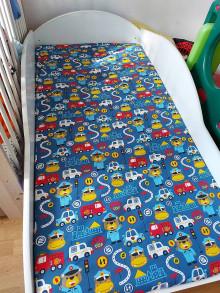 Textil - Plachtička na atypický rozmer postele 160x80x8 cm - 13822757_