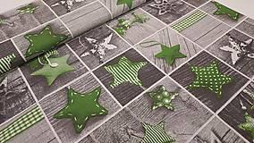 Textil - Látka s vianočným motívom - 13820939_