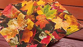 Úžitkový textil - Prestieranie s jesenným motívom - 13820965_
