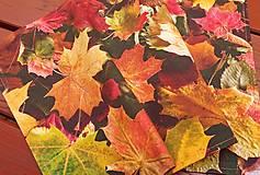 Úžitkový textil - Prestieranie s jesenným motívom - 13820970_