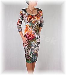Šaty - Šaty vz.334 i krátký rukáv - 13821993_