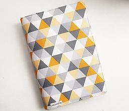 Papiernictvo - Obal na knihu nastaviteľný - Geometria - 13821669_