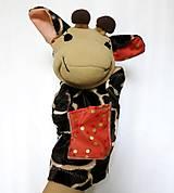 Hračky - Maňuška žirafa (Žirafka od Zlatej bodky) - 13824953_