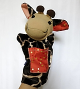 Hračky - Maňuška žirafa (Žirafka od Zlatej bodky) - 13824954_