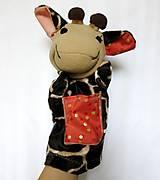 Hračky - Maňuška žirafa (Žirafka od Zlatej bodky) - 13824955_