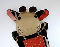 Hračky - Maňuška žirafa (Žirafka od Zlatej bodky) - 13824958_