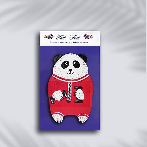 Brošnička - Panda (Fitnes panda)