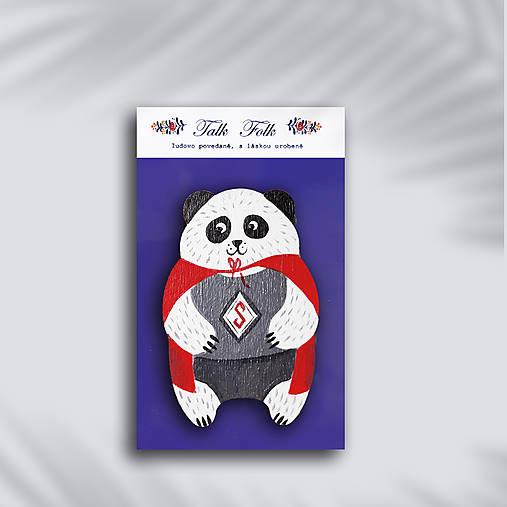 Brošnička - Panda (Super panda)