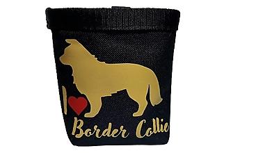 Pre zvieratá - Pamlskovník I Love Border Collie - 13822552_