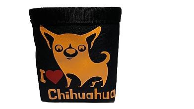 Pre zvieratá - Pamlskovník I Love Chihuahua - 13822629_