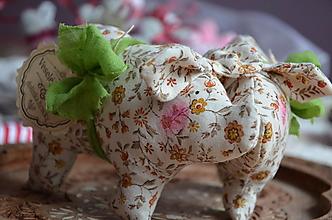 Dekorácie - Prasiatko Pepan - 13823300_