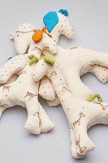 Hračky - Žirafka biobavlna - 13822121_