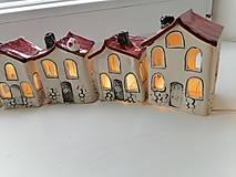 Dekorácie - keramika domčeky... - 13822316_