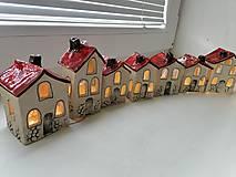 Dekorácie - keramika domčeky... - 13822318_