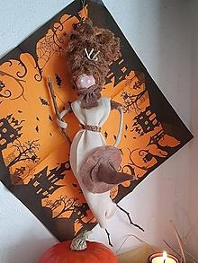 Bábiky - Halloweenska bábika - 13821972_