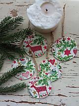Dekorácie - Vianočné ozdoby  sob - 13824800_