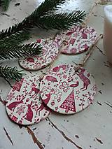 Dekorácie - Vianočné ozdoby na stromček - 13824961_