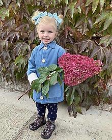 Detské oblečenie - Menčestrový detský kabátik - 13823763_