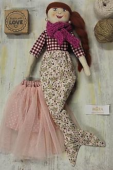 Hračky - milá morská Víla štýlová  - 13821753_