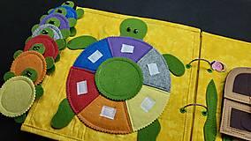 Hračky - Textilná kniha - 13825058_
