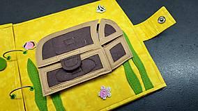 Hračky - Textilná kniha - 13825059_