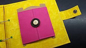 Hračky - Textilná kniha - 13825066_