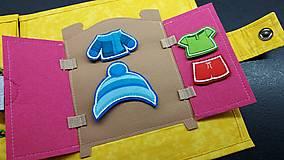 Hračky - Textilná kniha - 13825067_