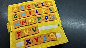 Hračky - Textilná kniha - 13825068_