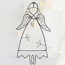 Detské doplnky - anjelik v bielom - 13826258_
